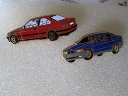PIN'S  LOT 2    BMW    ARTHUS BERTRAND - BMW