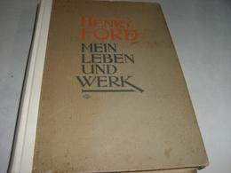 """LIBRO """"HENRY FORD MEIN LEBEN UND WERK"""" - Biografie & Memorie"""