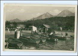 Y13078/ Faakersee  Sandbank U. Mittagskogel Kärnten Foto AK 1938 - Österreich