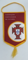 Pennant Football Soccer Federation Of PORTUGAL 95 X 145 Mm - Apparel, Souvenirs & Other