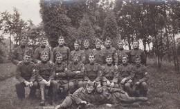 Soldat Militaire Belge Brasschaat Photo Carte 1920 - Photos