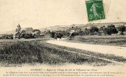 - DIXMONT (89) - Entrée Du Village Côté Villeneuve (attelage)  -4235- - Dixmont