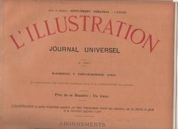 L'ILLUSTRATION 07 12 1901 - SOURDS MUETS - STATUE DE VERCINGETORIX PAR BARTHOLDI - CAMBRIOLAGE - METROPOLITAIN PARIS ... - Journaux - Quotidiens