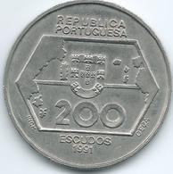 Portugal - 1991 - 200 Escudos - Westward Navigation - KM659 - Portugal
