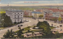 Melbourne Birds Eye View Old Postcard - Postcards