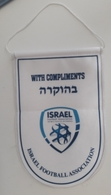Pennant Football Soccer Federation Of ISRAEL New Logo 125 X 185 Mm - Apparel, Souvenirs & Other