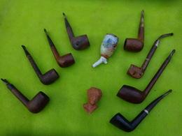 Lot De  Pipes Et Autre  Matiere A Identifier -4- - Pipes & Accessoires