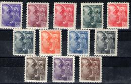 España  Nº 867/78. Año 1939 - 1931-50 Nuovi