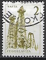 YOUGOSLAVIE   -    1958.   Y&T N° 756 Oblitéré.    Puits De Pétrole - 1945-1992 Socialistische Federale Republiek Joegoslavië