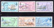 TERRITOIRE ANTARctiQUE BRITANNIQUE - N° 90/95  ** (1980) - British Antarctic Territory  (BAT)
