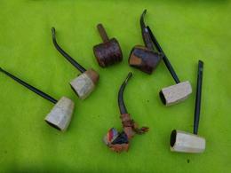 Lot De  Pipes  Matiere A Identifier -5- - Unclassified