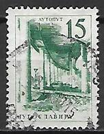 YOUGOSLAVIE   -    1959.   Y&T N° 794 Oblitéré.  Pont De Chemin De Fer Et Autoroute - 1945-1992 Socialistische Federale Republiek Joegoslavië