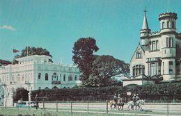 Trinidad & Tobago Whitehall Race Track Mounted Police Postcard - Postcards