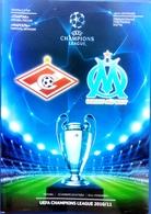 Football Program -   F.C.  SPARTAK  Moscow V. OLYMPIQUE Marseille ,  EURO - CUP , 2010 . - Books