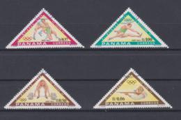 Panama 1984 Olympic Games 4 Vals. Used (H55) - Verano 1984: Los Angeles