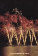 Pains Fireworks Display At Qatar Arabic Limited Edition Postcard - Postcards