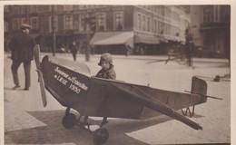 Photo Carte Snapshot Petit Avion Liège 1930 - Photographs