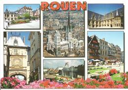 """CP ROUEN ( Seine Maritime ) """" Rouen En Normandie - Multivues """" - Rouen"""
