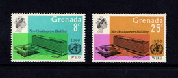 GRENADA    1966    W H O Headquarters   Set  Of  2    MH - Grenada (...-1974)