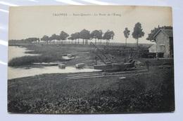 Trappes 78 Trois CP Anciennes étang  De St Quentin 181 188 Et 196 CP01 - Trappes