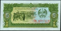 LAO - LAOS - 5 Kip Nd.(1979) UNC P.26 B - Laos