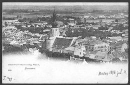 Österreich / Austria: Baden, Gesamtansicht  1899 - Baden Bei Wien