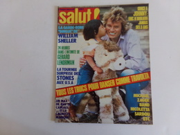 "Revue "" Salut "" N° 64, 1978, Johnny, William Sheller, Michael Zager, Les Stones ... - People"