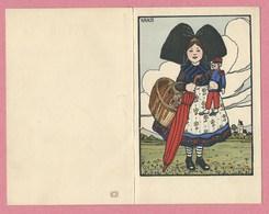 Carte Double - Menu - HANSI - JJ WALTZ - Petite Alsacienne - Editeur P.J. Gallais - Paris - 4 Scans - Hansi