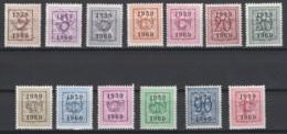 Série N° 52. Pre 686/698 **, MNH. Cote 2018 : 107 € - Typo Precancels 1951-80 (Figure On Lion)