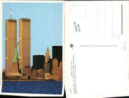621292,New York City Manhattan World Trade Center WTC Antique Original Postcard - NY - New York