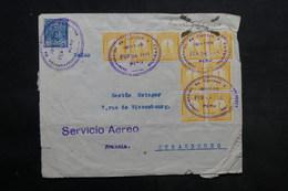PEROU - Enveloppe De Iquitos Pour La France Par Avion En 1931 , Affranchissement Plaisant - L 34044 - Perù