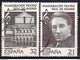 Spain 1997 - Reopening Of The Madrid Royal Theatre - 1931-Hoy: 2ª República - ... Juan Carlos I