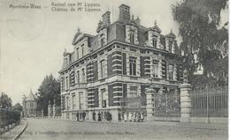 MOERBEKE-WAAS : Kasteel Van Mr Lippens - RARE VARIANTE - Cachet De La Poste 1909 - Moerbeke-Waas