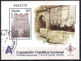 Spain 2000 -  National Philatelic Exhibition EXFILNA 2000, Aviles - 1931-Hoy: 2ª República - ... Juan Carlos I