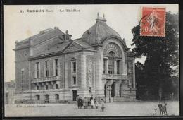 CPA 27 - Evreux, Le Théâtre - Evreux