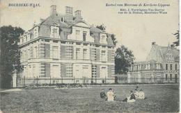 MOERBEKE-WAAS : Kasteel Van Mevrouw De Kerchove-Lippens - Cachet De La Poste 1906 - Moerbeke-Waas