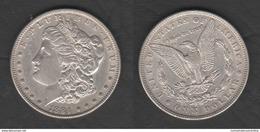 USA Dollaro 1884 Morgan Dollar United States Of America Silver Dollars - Emissioni Federali