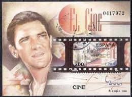 Spain 2000 - International Philatelic Exhibition ESPANA 2000, Madrid - Antonio Bandera - 1931-Hoy: 2ª República - ... Juan Carlos I