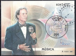 Spain 2000 - International Philatelic Exhibition ESPANA 2000, Madrid - Julio Iglesias - 1931-Hoy: 2ª República - ... Juan Carlos I