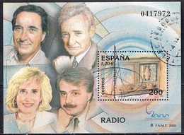Spain 2000 - International Philatelic Exhibition ESPANA 2000, Madrid - Radio - 1931-Hoy: 2ª República - ... Juan Carlos I