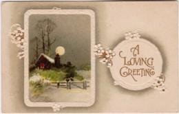 A Loving Greeting, Posted Bendigo, Victoria 1911 With Queensland 1d Stamp - Bendigo
