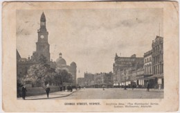 George Street, Sydney, New South Wales Advice Card, Posted 1906 From Bowral, NSW With Stamp - Sydney