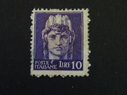 LOT ITALIE  A Identifier  10 Lire - Stamps