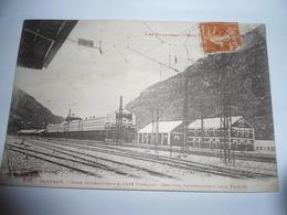 C.P.A.- Espagne - Canfranc Ou Camfran - Gare Internationale - Côté Français - 1928 - SUP (BV 83) - Espagne