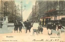 BELGIQUE   BRUXELLES  Boulevard Du Nord - Bélgica
