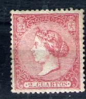 España Nº 80. Año 1866 - Unused Stamps