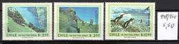 1981 -  CILE -  Mi. Nr.  948/950 - NH - (AS2302.2) - Cile