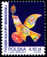 Poland 2019 Fi 4978 Mi 5128 Beskid Culture Week - 1944-.... República