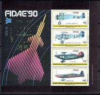1990 -  CILE -  Mi. Nr. BF 13 - NH - (AS2302.3) - Cile