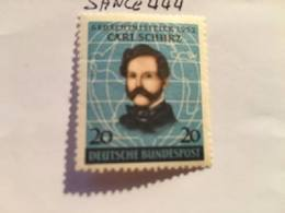 Germany C. Schurz Journalist 1952 Mnh - [7] Federal Republic